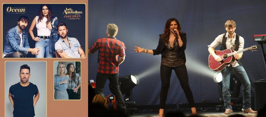 Lady Antebellum at Darling's Waterfront Pavilion