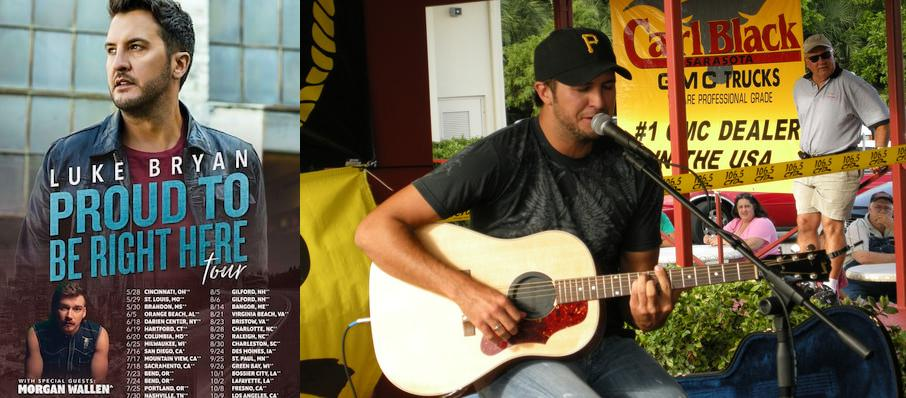 Luke Bryan at Darling's Waterfront Pavilion